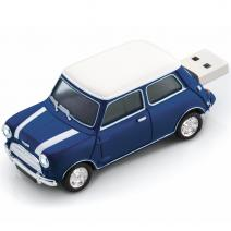 Mini Cooper 8GB USB - Modrá