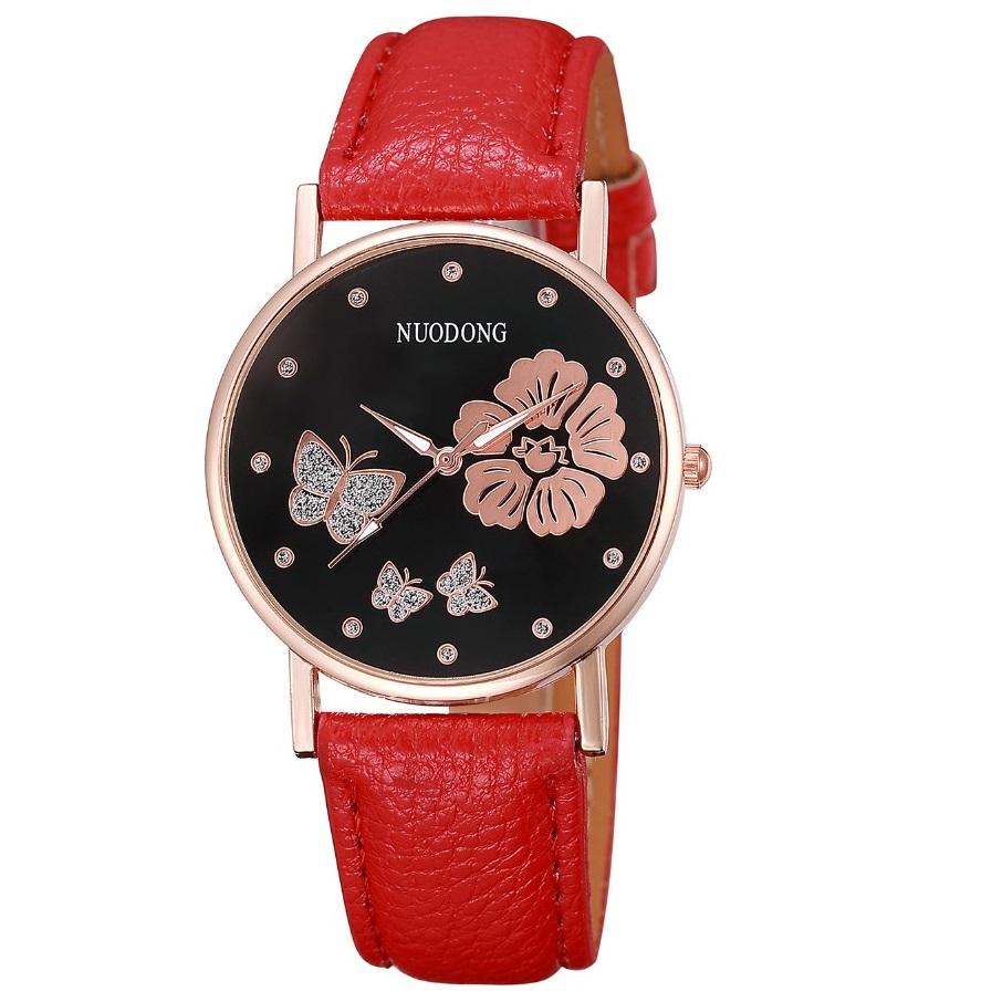3596d063617 Hodinky Butterfly-Červená